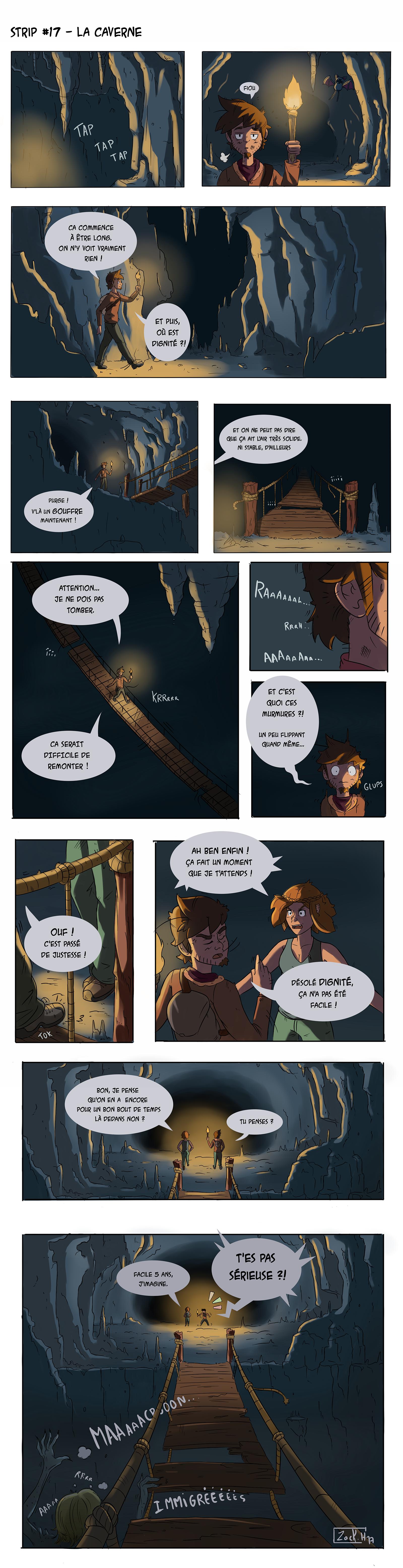 Strip 17 - Comme dans une caverne