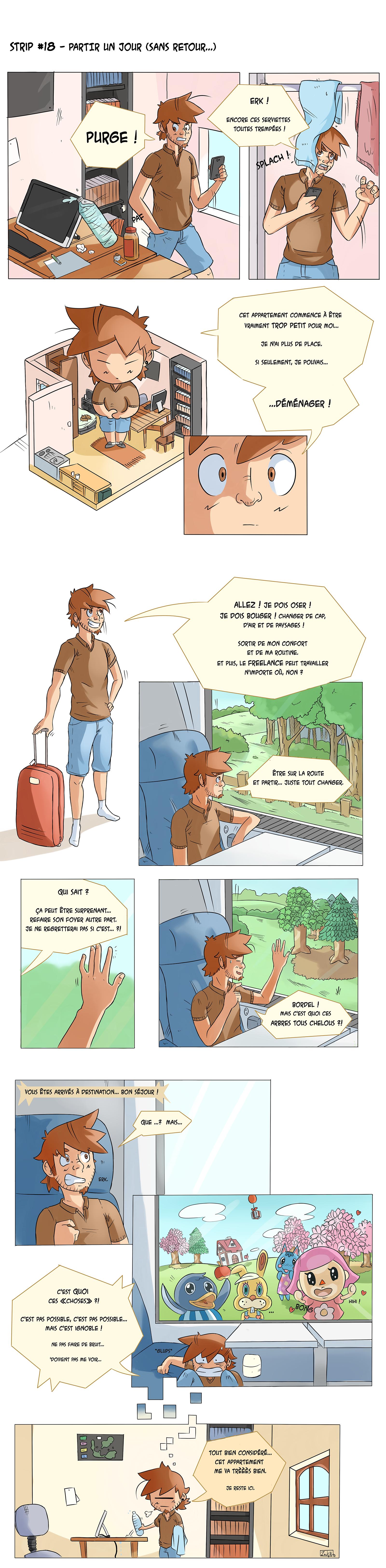 Strip 18 - Partir un jour (sans retour) - 1600px